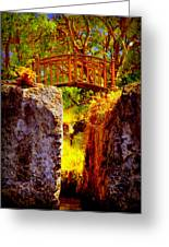 Fairytale Bridge Greeting Card