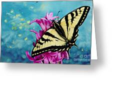 Fairytale Garden Greeting Card