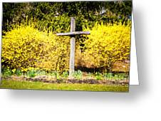 Faith In Spring Greeting Card