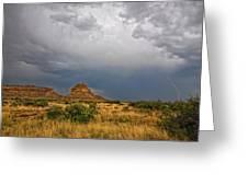 Fajada Butte Storm Greeting Card