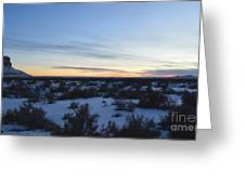 Fajada Sunset Greeting Card
