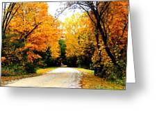 Fall 35 Greeting Card