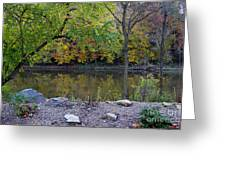 Fall Along The Scioto River Greeting Card