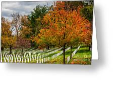 Fall Arlington National Cemetery  Greeting Card