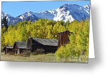 Fall At Ashcroft Greeting Card