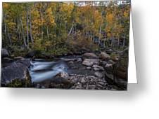 Fall At Bishop Creek Greeting Card