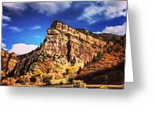 Fall At Hanging Lake Colorado Greeting Card