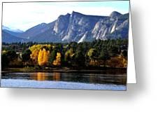 Fall At Lake Estes Greeting Card