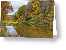 Fall At Little Beaver Creek Greeting Card