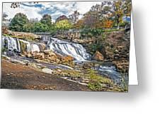 Fall At Reedy River Greeting Card