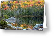 Fall At Sandy Stream Pond Greeting Card