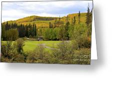 Fall At The Course Greeting Card