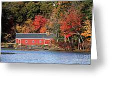 Fall At The Mill Greeting Card