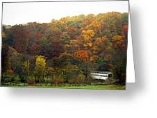Fall At Valley Forge Greeting Card