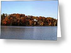 Fall By The River Greeting Card