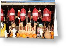 Fall Chilli Market Greeting Card