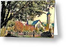 Fall Church Greeting Card