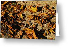 Fall Cleanup Greeting Card