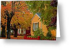 Fall Color Co-ordinated Greeting Card