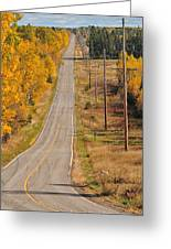 Fall Color Tour Mn Highway 1 2925 Greeting Card