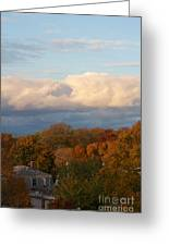 Fall Colors In New England Greeting Card