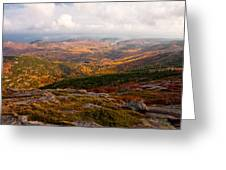 Fall Colors Of Acadia 6656 Greeting Card