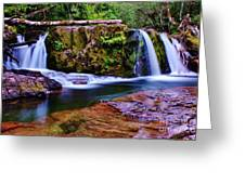Fall Creek Oregon 3 Greeting Card