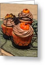 Fall Cupcakes Greeting Card