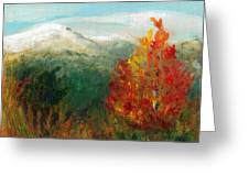 Fall Day Too Greeting Card