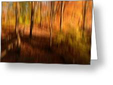 Fall Divine Greeting Card