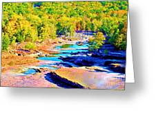 Fall Drought @ Ashokan Greeting Card