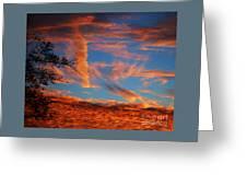 Fall Evening Falls Greeting Card