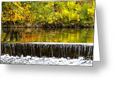 Fall Falls Greeting Card by Baywest Imaging