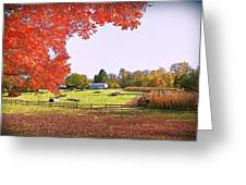 Fall Farm Greeting Card