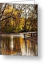 Fall Fishing Greeting Card