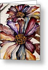 Fall Flower Colors  Greeting Card