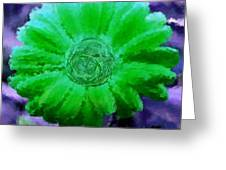 Fall For Me Green Greeting Card