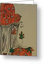 Fall For Pumpkins Greeting Card