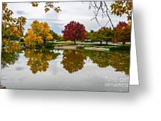 Fall Fort Collins Greeting Card by Baywest Imaging