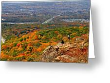 Fall From Castle Craig Greeting Card
