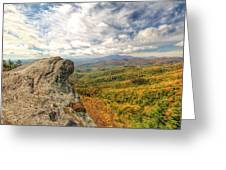 Fall From The Blowing Rock Greeting Card