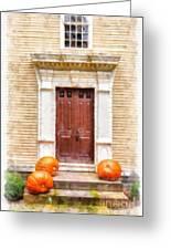 Fall Harvest Greeting Card
