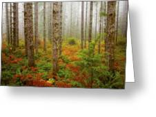 Fall Has Come Greeting Card