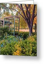 Fall Herb Garden0981 Greeting Card