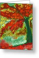 Fall Impression By Jrr Greeting Card