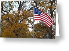 Fall In America Greeting Card