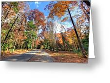 Fall In Cades Cove Greeting Card