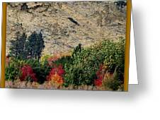 Fall In Carson Valley  Greeting Card