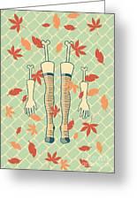 Fall In Love Greeting Card