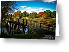 Fall In Massachusetts Greeting Card